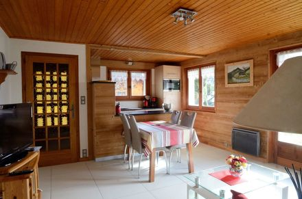 "Apartment ""Le Cèdre"" in chalet - 52m² - 2 bedrooms - Dutruel Micheline"