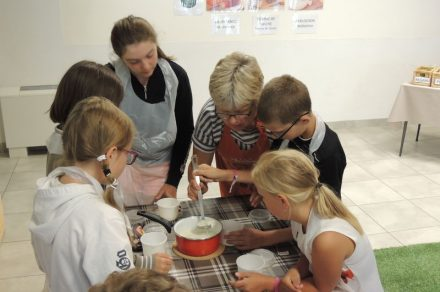 Workshop for ggroups : Little cheese makers