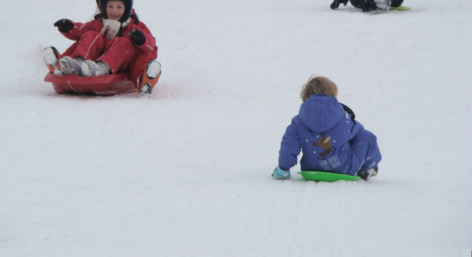 Sledging with the Family